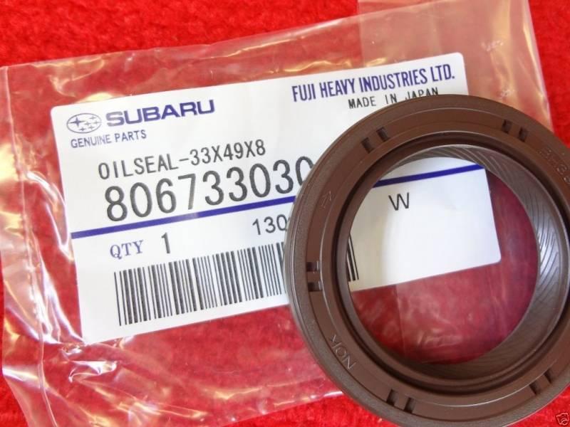 Subaru OEM Front Cam Crank Oil Seal Kit Outback Forester