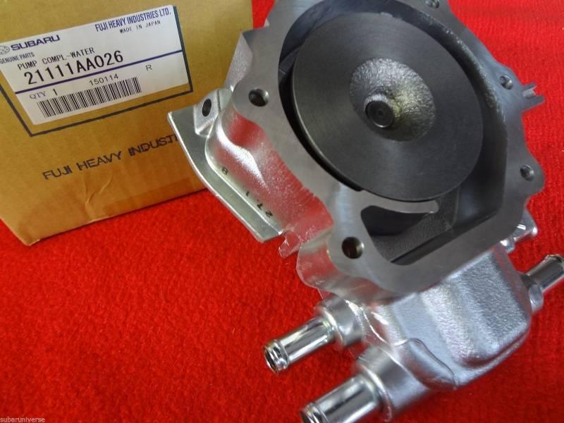 Subaru OEM Water Pump Kit Impreza WRX STI EJ205 EJ207 EJ255