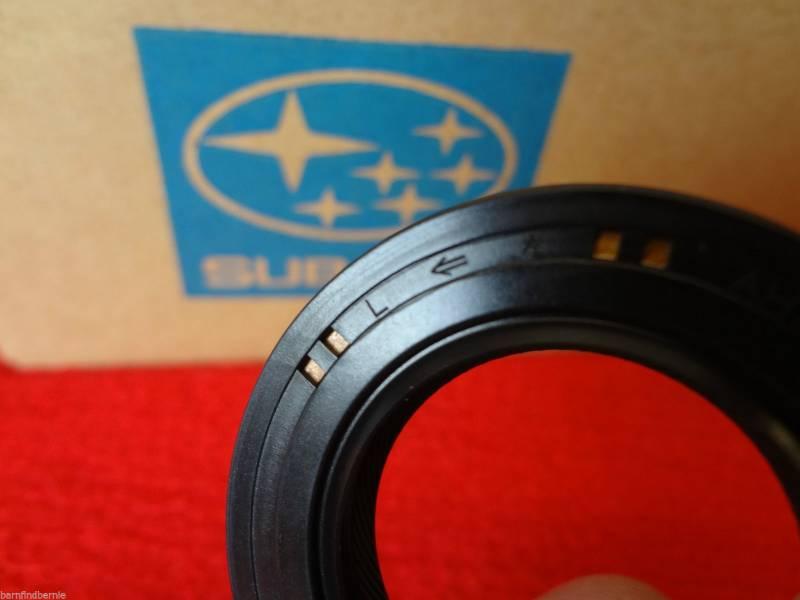 Best Brake Pads >> Subaru OEM Front Drive Axle Seal Kit WRX Impreza Legacy ...