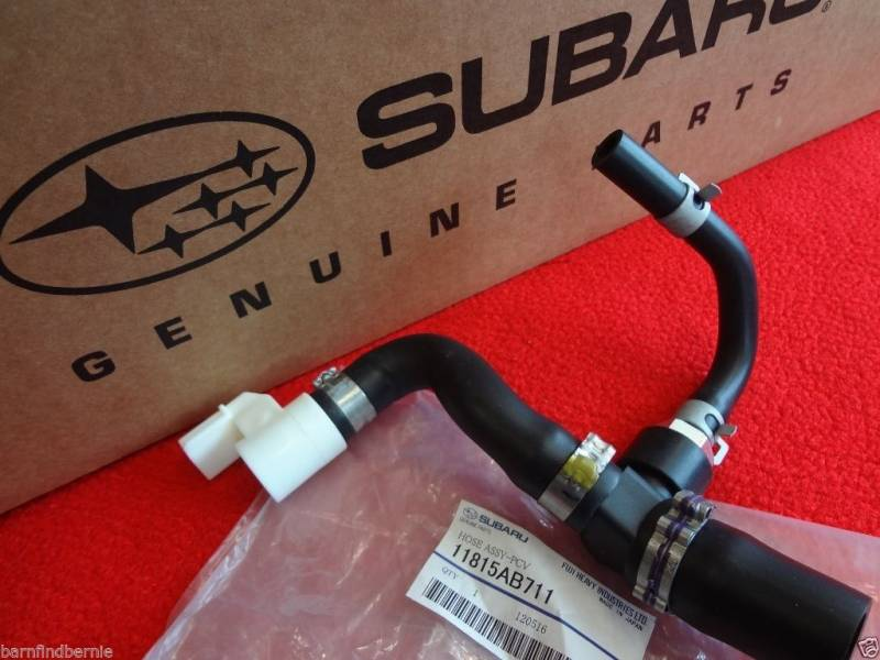 Best Brake Pads >> Subaru OEM PCV Valve Hose Kit WRX STI Forester Baja TURBO EJ205 EJ255 EJ257