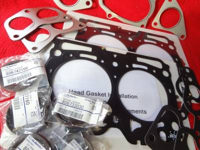 Six Star Head Gaskets USA - Six Star MLS Head Gasket Kit Subaru WRX Impreza STi Forester XT Legacy GT Outback 2.5 Turbo