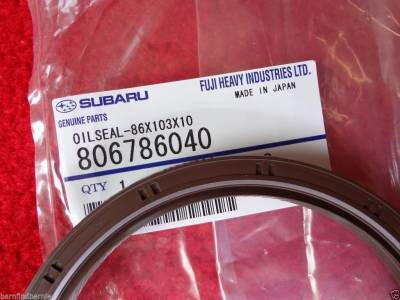 OEM Subaru - Subaru OEM Engine Rear Main Oil Seal WRX Impreza Legacy Forester Outback EJ Motors