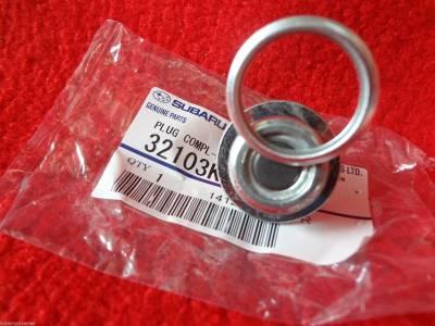 OEM Subaru - Subaru OEM Magnetic Oil Drain Plug Upgrade Kit WRX Impreza WRX