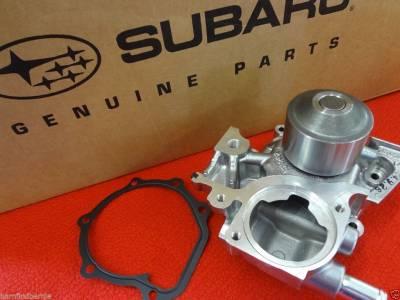 OEM Subaru - Subaru OEM Forester Water Pump & Gasket Kit Auto Trans 2006 ONLY 2 Pipe