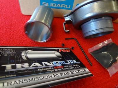 PDM Tranquil USA - PDM Tranquil TSK2 Case Saver Kit Subaru WRX Impreza Forester Legacy TURBO