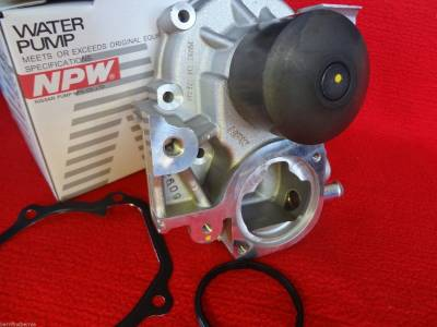NPW Water Pumps Japan - Subaru NPW Water Pump Kit Impreza Forester Outback Legacy Alternate to OEM