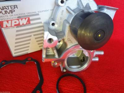 NPW Water Pumps Japan - NPW for Subaru Water Pump Kit 2 Pipe Impreza WRX EJ255 08-14 / Forester 08-13 Alternate to OEM