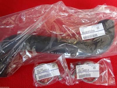 OEM Subaru - Subaru Top Radiator Hose & 2 Clamps Kit WRX Impreza STi 02-07 / Impreza 03-07 OEM