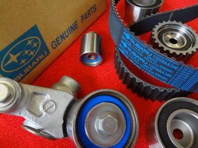 OEM Subaru - Subaru OEM Timing Belt Kit DOHC 00-18 WRX Impreza STi R GT XT Made in Japan + STi T-Belt Upgrade!