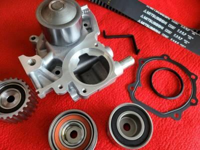 OEM Subaru - Subaru OEM Timing Belt Kit + Aisin Water Pump Outback & Legacy 06-12 2.5 SOHC 100% USA & Japan Parts!