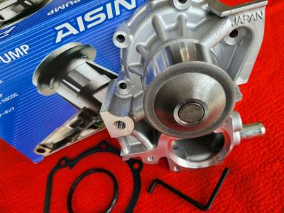 Subaru Aisin Japan Water Pump Kit Impreza Forester Outback Legacy Alternate to OEM