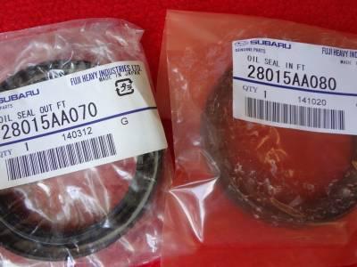OEM Subaru - 72mm Rear Axle Wheel Bearing and Seal Kit for Subaru Impreza STi 1993-2007 / SVX 1992-1997 OEM + FREE Axle Nut - Image 2
