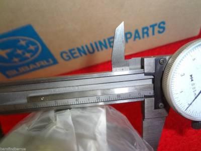 Subaru OEM 72mm Rear Axle Wheel Bearing and Seal Kit ...