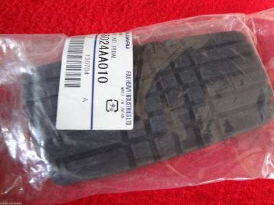 Keys Pedal Pads + - Brake Pedal Pads Automatic - OEM Subaru - Subaru OEM Brake Pedal Pad Automatic Outback Forester Impreza Legacy