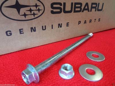 OEM Axle Bearings + - Rear Lateral Link Bolt & Bushing Kits - OEM Subaru - Subaru OEM Rear Lateral Link Bolt Kit WRX Legacy Forester Outback Impreza AWD