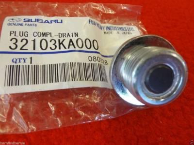 OEM Subaru - Subaru OEM Magnetic Oil Drain Plug Upgrade Kit WRX Impreza WRX - Image 2
