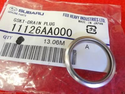 OEM Subaru - Subaru OEM Magnetic Oil Drain Plug Upgrade Kit WRX Impreza WRX - Image 3