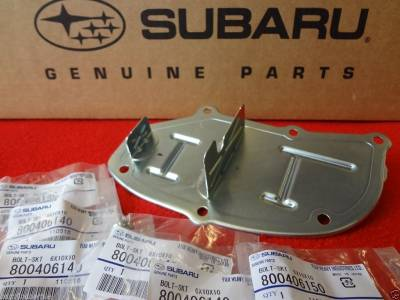 OEM Subaru - Subaru Oil Separator + 6 Lock Bolts Forester WRX Impreza STi  Outback Legacy OEM - Image 2
