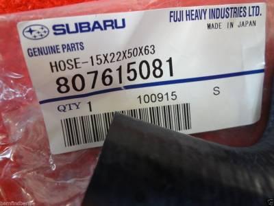 OEM Subaru - Subaru OEM Water Bypass Hose & Clamp Kit Forester Impreza Legacy Outback - Image 2