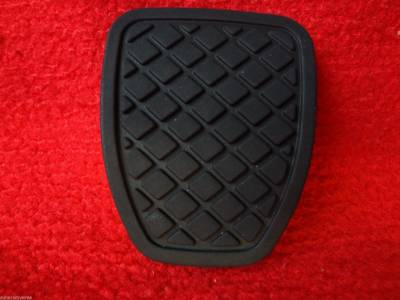 Keys Pedal Pads + - Brake & Clutch Pedal Pads Manual - OEM Subaru - Subaru Brake or Clutch Pedal Pad 5 & 6 Gear 1980 & Up Genuine OEM