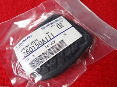 OEM Subaru - Subaru Brake or Clutch Pedal Pad 5 & 6 Gear 1980 & Up Genuine OEM - Image 2