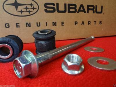OEM Axle Bearings + - Rear Lateral Link Bolt & Bushing Kits - OEM Subaru - Subaru OEM Rear Lateral Link Bolt & Bushing Kit Legacy Forester Outback Impreza