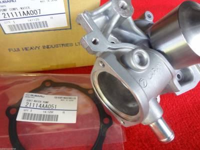 Cooling System - OEM Water Pump Kits - OEM Subaru - Subaru OEM Water Pump & Gasket Kit Legacy Forester Outback Impreza
