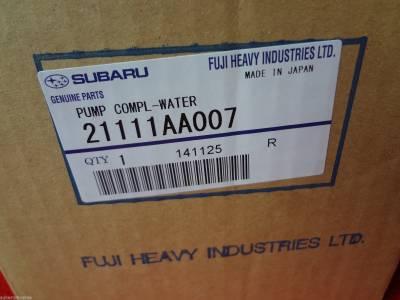 OEM Subaru - Subaru OEM Water Pump & Gasket Kit Legacy Forester Outback Impreza - Image 4