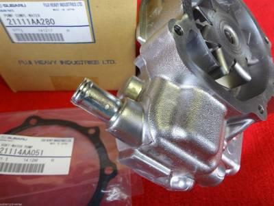 OEM Subaru - Subaru OEM Water Pump & Gasket Kit Impreza Forester Outback Legacy 2006-12 - Image 2