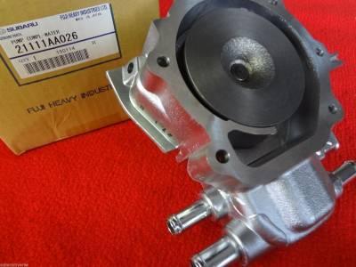 OEM Subaru - Subaru OEM Water Pump Kit Impreza WRX STI EJ205 EJ207 EJ255 EJ257 Turbo 3 Pipe - Image 3