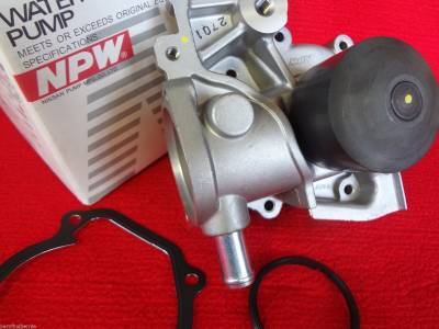 Cooling System - NPW Japan Water Pump Kits - NPW Water Pumps Japan - Subaru NPW Water Pump Kit Legacy Forester Outback Impreza Alternate to OEM