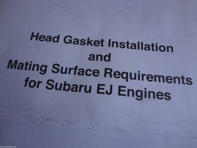 Six Star Head Gaskets USA - Six Star MLS Head Gasket Kit Subaru 2.2 SOHC Legacy Impreza EJ22 1999-2001 - Image 8