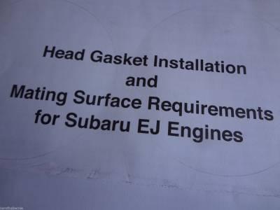 Six Star Head Gaskets USA - Six Star MLS Head Gasket Kit Subaru 2.5 SOHC Impreza 99-11 / Forester 99-10 / Outback & Legacy 99-09 - Image 8