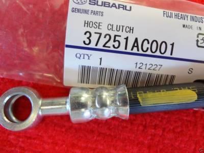 OEM Subaru - Subaru OEM 5 Gear Clutch Hose + Seals Legacy Forester Outback Impreza - Image 2