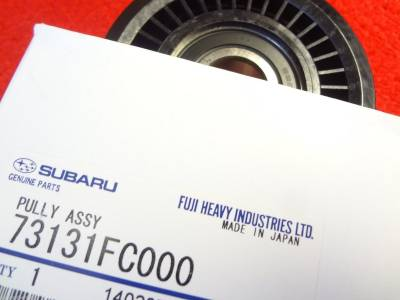OEM Subaru - Subaru OEM A/C Belt Adjuster Pulley WRX Impreza Legacy Forester Outback - Image 3
