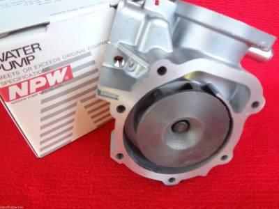 OEM Subaru - Subaru Forester HI-FLO NPW Water Pump Kit 2 Pipe Automatic Trans ONLY Alternate to OEM - Image 4
