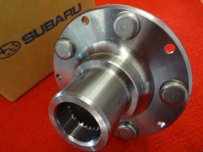 OEM Subaru - Front Wheel Axle Hub NO BEARING Subaru Impreza + WRX 93-07 / Forester 98-08 / Outback + Legacy 90-04 / Baja 03-06 OEM - Image 2