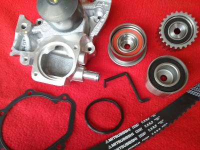 OEM Subaru - Subaru OEM Timing Belt Kit + NPW Water Pump Outback & Legacy 06-12 2.5 SOHC 100% USA & Japan Parts!